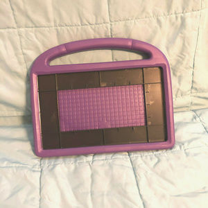 EVA FOAM SHOCKPROOF CASE PURPLE 002G KIDS HANDLE